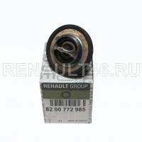 Термостат (с прокладкой) Renault оригинал 8200772985