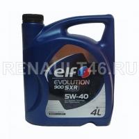 Масло моторное ELF EVOLUTION 900 SXR 5w40 син. 4л.