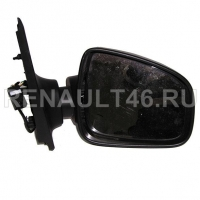 Зеркало LOGAN II 2014 - заднего вида электро/без повтор/струк Правое Renault оригинал Б/У 963016591R