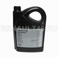Антифриз Coolant L248 Premix (зеленый) -38 °C 5л Renault-Nissan оригинал KE902-99945