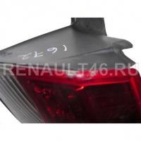 Фонарь задний LAGUNA III -2011 + ПЛАТА (на крыло) Правый Renault оригинал Б/У 265500001R