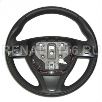 Рулевое колесо DUSTER II (кожа/круиз-контроль+) Renault оригинал Б/У 484004162R