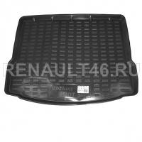 Коврик багажника LADA X-RAY REZKON 5039055100 (пластик) аналог 99999215173282