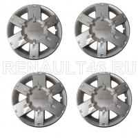 Колпаки колесные R15 DACIA 4 шт. Renault оригинал Б/У 8200270483