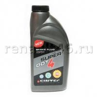Тормозная жидкость Sintec SUPER DOT-4 (455 г)