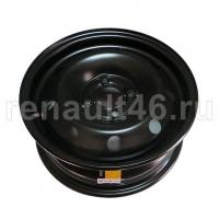 Диск колесный ЧЕРНЫЙ 5,5JxR14/4x100/ch 60,1/ ET43 Renault оригинал 403005121R