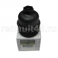 Крышка масляного фильтра (M9T; M9R; R9M ) RENAULT оригинал 7701478537