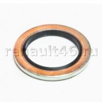 Прокладка маслянной пробки 16,7мм с резиновым кольцом Sasic 4001073 аналог 8200641648