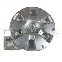 Колпак штампованного диска R15 MEGANE II Renault оригинал 8200422602