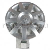 Колпак колеса полноразмерный R14 Renault Logan оригинал 8200778762