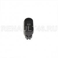 Кнопка обогрева заднего стекла LOGAN фаза 2/SANDERO Renault оригинал Б/У 8200710682