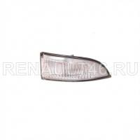 Повторитель поворота (в зеркале) MEGANE III/FLUENCE Правый Renault оригинал Б/У 261609550R