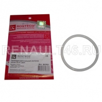 Прокладка корпуса дроссельной заслонки дв. 16V (тонкая) ROSTECO 20761 аналог 8200068566