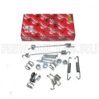 Монтажный комплект задних тормозных колодок (D180mm) NPA NP511-04234 аналог 7701205756