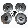 Колпак колеса литого диска R15 LOGAN II 2014- (4 шт. + болты + ключ) Renault оригинал 8200833420
