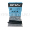 Фильтр салонный УГОЛЬНЫЙ FILTRON K1152A аналог 7701062227; 272775374R; 27891AX01A