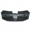 Решетка радиатора с эмблемой DACIA SANDERO Renault оригинал Б/У 8200735104+628900520R