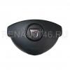 Подушка безопастности водительская (в руль) DACIA DUSTER до 14 г. Renault оригинал Б/У 985100037R