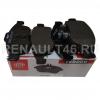 Колодки тормозные передние FERODO FDB4180W (MEGANE III/DUSTER 2.0) аналог 410605961R; 410607115R