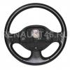 Рулевое колесо LOGAN ФАЗА 1 (кожа) Renault оригинал Б/У 8200461430; 6001548764