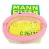 Фильтр воздушный MANN C 2672/1 аналог 7701047655; 7701069365; 7701070525