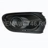 Заглушка бампера для ПТФ (глухая) LOGAN II 2014- Renault Правая оригинал 263316043R