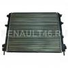 Радиатор охлаждения для авто с кондиционером (до 2008 года) RIGINAL RG637931 аналог 7700428082