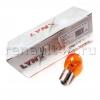 Лампа одноконтактная желтая (передних поворотов) 12V PY21W LYNX L14421Y аналог 7701038624