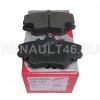 Колодки тормозные передние PATRON PBP1781 аналог 410602192R